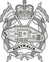 Royal Australian Armoured Corps (RAAC), badge
