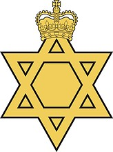Royal Australian Army Chaplains Department (Jewish) (RAACD(J)), badge