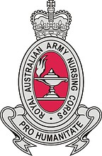 Royal Australian Army Nursing Corps (RAANC), badge