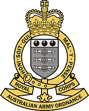 Royal Australian Army Ordnance Corps (RAAOC), badge