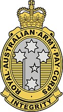 Royal Australian Army Pay Corps (RAAPC), badge