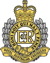 Royal Australian Engineers (RAE), badge