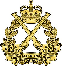 Royal Australian Infantry Corps (RA Inf), badge