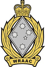 Women`s Royal Australian Army Corps (WRAAC), badge