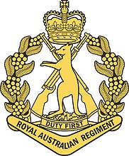 Royal Australian Regiment, badge