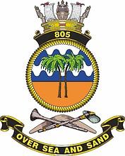 Royal Australian Navy 805th Squadron, emblem