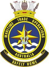 Australia Maritime Trade Operations, emblem