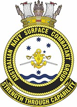 Australian Navy Surface Combatants Force Element Group (COMAUSNAVSURFGRP), emblem