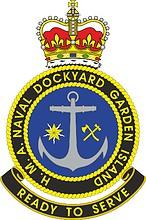 H.M. Australian Naval Garden Island Dockyard, emblem