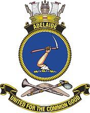 HMAS Adelaide, emblem