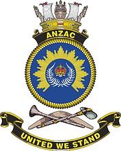 HMAS Anzac, emblem