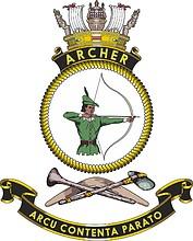 HMAS Archer (P 86), emblem