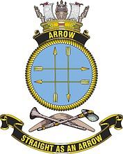 HMAS Arrow, emblem