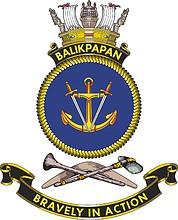 HMAS Balikpapan, emblem