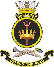 HMAS Ballarat (FFH 155), emblem