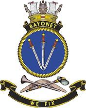 HMAS Bayonett, emblem