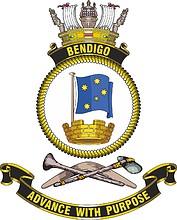 HMAS Bendigo, emblem