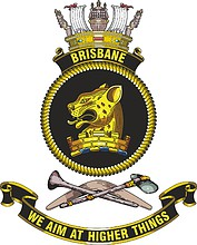 HMAS Brisbane (DDG 41), emblem