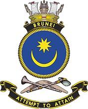 HMAS Brunei, emblem