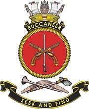 HMAS Buccaneer (P 100), emblem