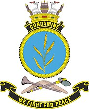 HMAS Condamine (K698), emblem