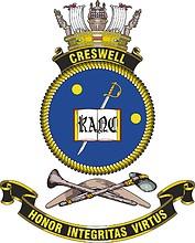 HMAS Creswell, emblem