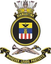 HMAS Diamantina, emblem