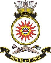 HMAS Dubbo, emblem