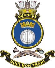 HMAS Duchess, emblem
