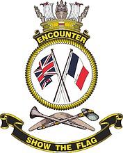 HMAS Encounter, emblem