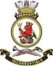 HMAS Fremantle (FCPB 203), emblem