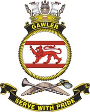 HMAS Gawler (FCPB-212), emblem