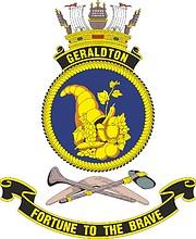 HMAS Geraldton (FCPB-213), emblem
