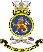 HMAS Hawkesbury, emblem