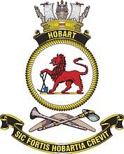 HMAS Hobart (DDG 39), emblem