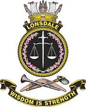 HMAS Lonsdale, emblem