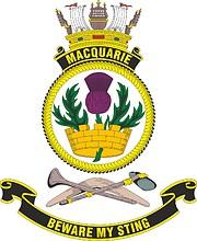 HMAS Macquarie, emblem
