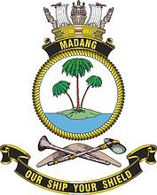 HMAS Madang, emblem