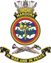 HMAS Manoora (L 52), emblem