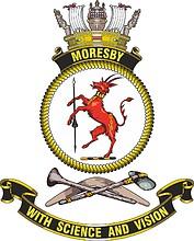 HMAS Moresby, emblem
