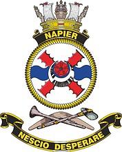 HMAS Napier, emblem