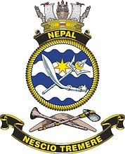 HMAS Nepal (D14), emblem