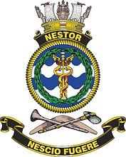 HMAS Nestor, emblem