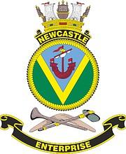 HMAS Newcastle, emblem