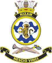 HMAS Nizam, emblem