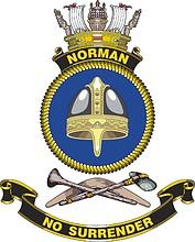 HMAS Norman, emblem