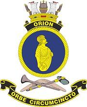 HMAS Orion, emblem