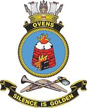 HMAS Ovens, emblem