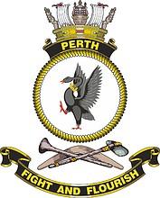 HMAS Perth, emblem
