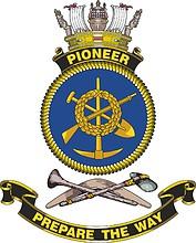 HMAS Pioneer, emblem